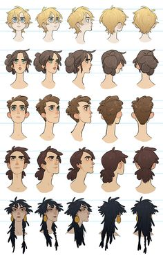 Dia- head turn arounds by charlottevevers on DeviantArt