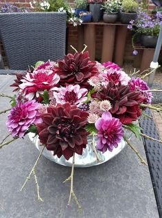 Dahlia, blomsterdekoration