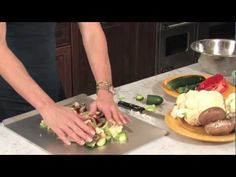 How To Make Perfect Grilled Vegetables by JJ Virgin - YouTube