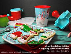 Fun, affordable holiday activities for the whole family and your chance to win the #NorthpoleFun $1000 Sweepstakes! Prize: $1000 Walmart gift card. Hurry, ends 12/21/14 at 11:59pm EST. #ad
