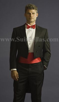 2e49771bfe86c Tuxedo with Tailcoat Vented and Flat Front Pants Black With Free Tuxedo  Shirt   Bowtie Online Discount Fashion Sale Tuxedo Jacket with the tail  suit tuxedo ...