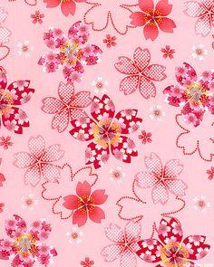 Sakura - Cherry Blossom Shadows - Pink/Glitter