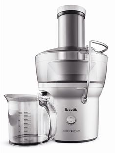 Breville Juice Fountain Compact ($100, amazon.com) promises to save you cash — and counter space to boot!