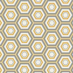 Honeycomb Hexa from the Minimalista collection from Art Gallery Fabrics Quilting-weight cotton x Bolt End Thank you kindly for supporting our small business! Art Gallery Fabrics, Textures Patterns, Fabric Patterns, Stash Fabrics, Quilt Kits, Paint Shop, Modern Fabric, Cool Fabric, Pattern Wallpaper
