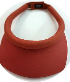 Sienna Square Brim w/Velcro Closure sun visor