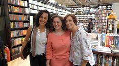 Valéria Martins, Isabel Valle e Laura Di Pietro