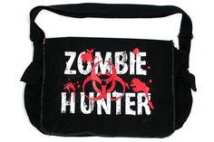Zombie Hunter - Messenger Bag