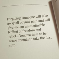 Forgive, forget and then move on ♡