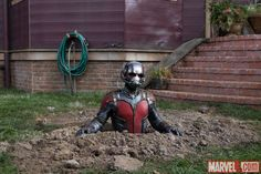 Ant-Man (Paul Rudd) finds himself in a tough spot in Marvel's 'Ant-Man,' in theaters July 17