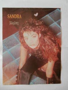 Sandra Mini Poster from Greek Magazines clippings 1970s 1990s | eBay
