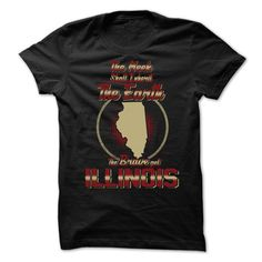 The Brave Get ILLINOIS - T-Shirt, Hoodie, Sweatshirt