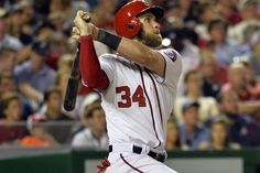 Nationals' slugger Bryce Harper hits two more for five home runs in two games...