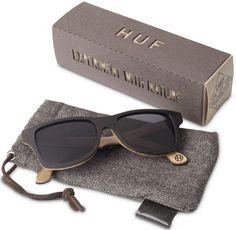 Huf Sunglasses made of recycled skateboard decks