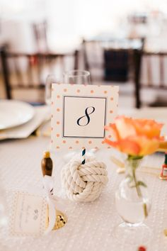 Coral and Navy Nautical Wedding on Lake Michigan with Photos by Harrison Studio – Jamie and Ryan