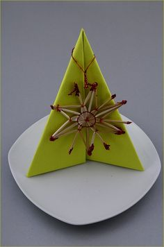 Napkin Folding Christmas Tree   How To Fold Napkins For Christmas   YouTube  | Napkins To Fold | Pinterest | Napkins, Christmas Tree And Decoration