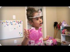 PRINCESS TEA PARTY!!! - YouTube