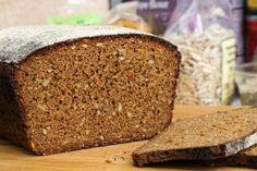 Swedish style seeded rye bread