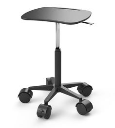 Height Adjustable Mobile Laptop Cart