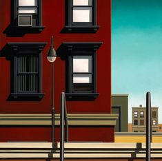 KENTON NELSON Leap of Faith, His great-uncle, whom he was named after, was Roberto Montenegro, a Mexican muralist who was friends with Diego Rivera and Frida Kahlo (who married in his garden). Grant Wood, Diego Rivera, The New Yorker, American Scene Painting, City Illustration, Digital Illustration, Portraits, Retro Art, Vintage Art