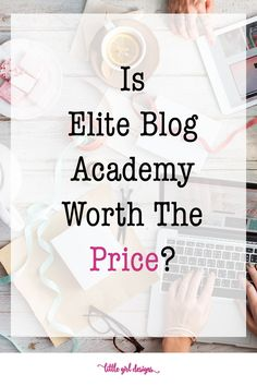 So glad I found this post about Elite Blog Academy. I've been researching different online courses so I can make money from my blog, and I didn't know which one was the best. Finally, someone explained the differences! Thank you!