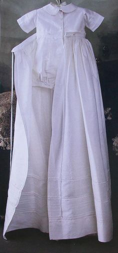 Heirloom Smocking Embroidery Patterns 2 Piece Twins Dedication Gown Dresses SB#91 #Crafts