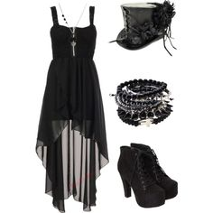 """""""Untitled #578"""" by bvb3666 on Polyvore jus for one of those cloudy days when im bored :P"""