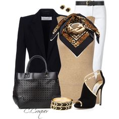 """Woman's fashion """"White Pants 2"""", created by ccroquer on Polyvore"""