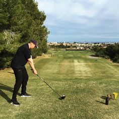 Lo Romero, Spain. An enjoyable and fun course to play. A difficult finish with a par 4 to an island green. Picture; © Hans Henrik Furøy