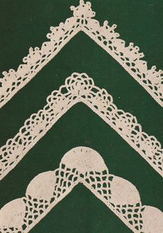 Lace and Lace for tablecloths to Crochet