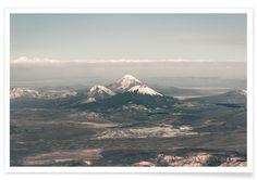 Raw 2 Andes Chile - Joe Mania - Premium Poster