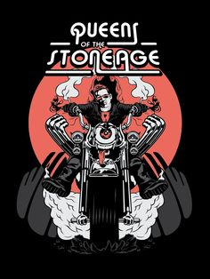 Queens Of The Stone Age - The Rocker by Schorer