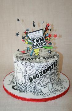 Tom gates cake - Cake by Alison Lee