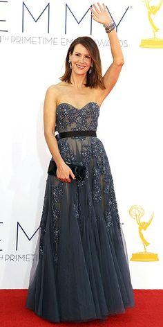 Sarah Paulson, Emmys' Arrivals Gallery - Emmy Awards 2012 : People.com (CREDITS: Matt Sayles/Invision/AP)