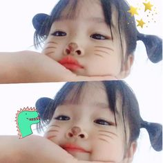 The Korean girl is so adorable that she looks at pictures and just wants to rush right into . Cute Asian Babies, Korean Babies, Asian Kids, Cute Babies, Cute Little Baby, Little Babies, Kids Girls, Baby Kids, Cute Baby Girl Pictures