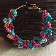 earrings crochet / orecchini all' uncinetto di nonsolochiacchiere