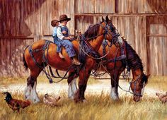 Back to the Barn by Jim Daly