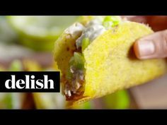 Honey Chipotle Tacos | Delish - YouTube