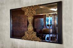 mirror designed by Deniz Tunç