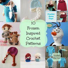 Knot Your Nana's Crochet: 10 Frozen Inspired Patterns.