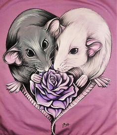 RAT LOVE tričko