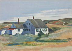 """""""Kelly Jenness House"""" (1932) by Edward Hopper"""