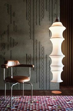 Wallpaper WOOL Contemporary Wallpaper 2016 Collection By Wall&decò design Giovanni Pesce Interior Wallpaper, Interior Walls, Modern Interior, Textures Murales, Deco Luminaire, Contemporary Wallpaper, Wall Cladding, Wall Panelling, Wall Patterns