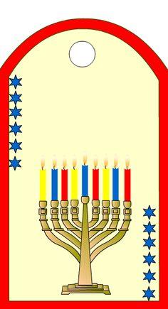 free hanukkah printable tag
