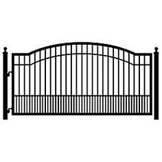 driveway gate option