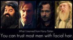Dumbledore's a little iffy, but yeah