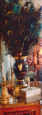 A Peacock Feather Bouquet