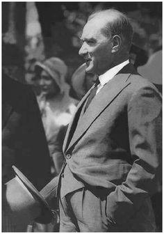 Mustafa Kemal Ataturk, first president of the Republic of Turkiye. Ataturk fought hard to make Turkiye a secular democratic modern nation. Republic Of Turkey, The Republic, Salvador Dali, Charlie Chaplin, Turkish Army, Most Stylish Men, Stylish Man, The Turk, Fathers Love
