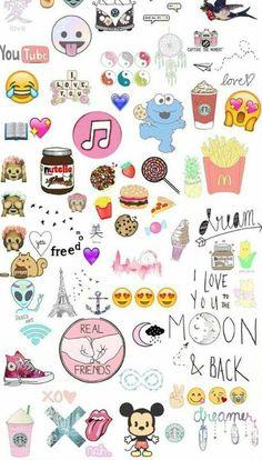 Emoji Wallpaper Tumblr, Vans Wallpaper, Teenager Wallpaper, Teen Wallpaper, Tumblr Backgrounds, Cute Backgrounds, Cool Wallpaper, Cute Wallpapers, Iphone Wallpaper