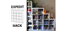 Expedit IKEA hack - Craft Collective