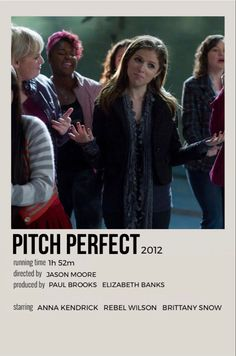 Iconic Movie Posters, Minimal Movie Posters, Iconic Movies, Pitch Perfect 3 Movie, Pitch Perfect 2012, Movies Showing, Movies And Tv Shows, Movie Collage, Anna Camp